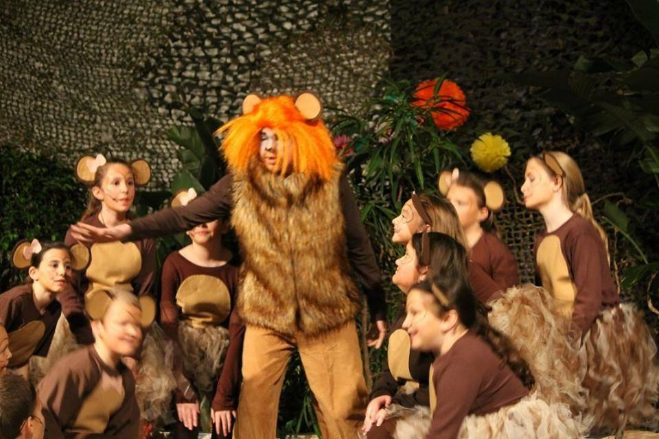 Student production of The Jungle Book