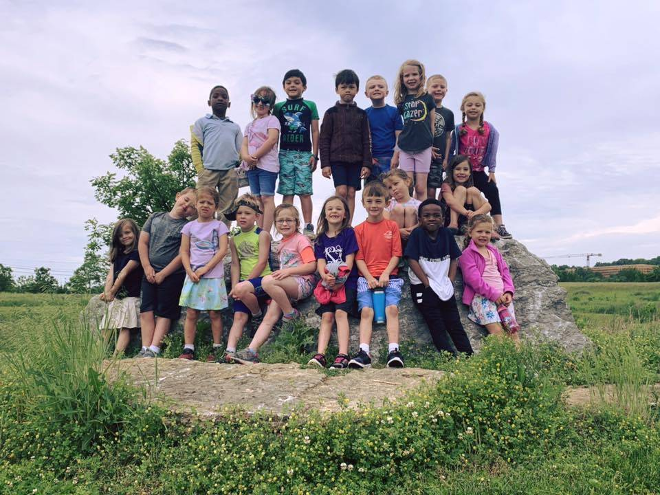 Kindergarten field trip to Cove Spring park